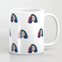 marina Mugs featuring Marina by Cannibal Malabar