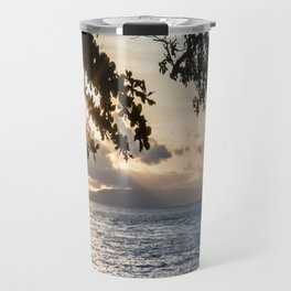 Sunrise Over the Bohol Sea Travel Mug