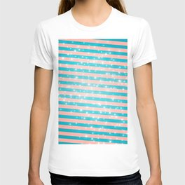 Juicy glitter stripes - Color day 1 T-shirt