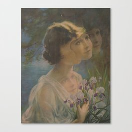 The Floating Girl Canvas Print