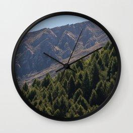 Mountain Pattern Wall Clock