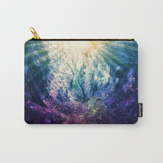 Light At The End of the Tunnel : Deep Pastels Carry-All Pouch