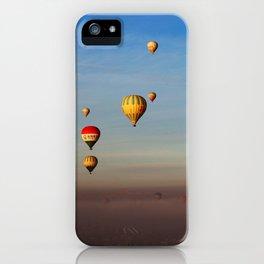Fairytale dreams of hot air balloons iPhone Case