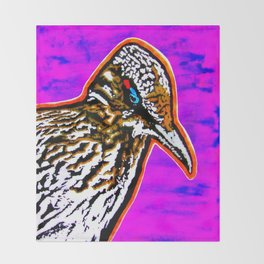 Pop Art Roadrunner No. 1 Throw Blanket