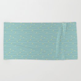 In the Waves Beach Towel