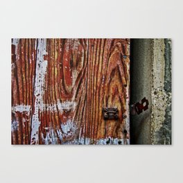 Unlocked just for you Canvas Print