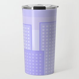 pretty city blue Travel Mug