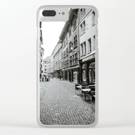 Old Town Geneva Clear iPhone Case
