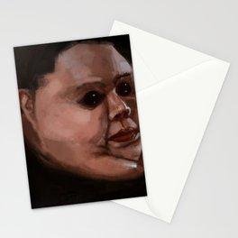 Dark eyes Stationery Cards
