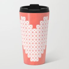 Heart X Red Travel Mug