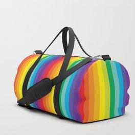 Rainbow Stripes Duffle Bag