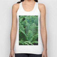 fern Tank Tops featuring fern by Dar'ya Vlasova
