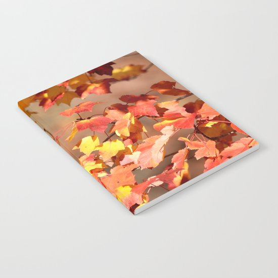 Fall Day Notebook