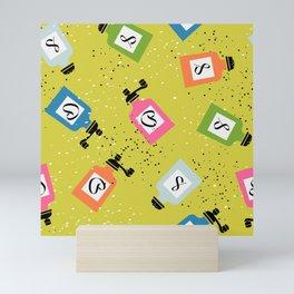 Kitschy Salt + Pepper Shakers in Neon Mini Art Print