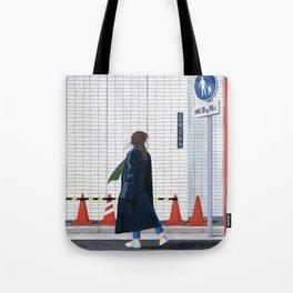 Unfamiliar palce, Unfamiliar time_ver1 Tote Bag