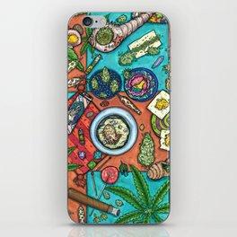 Ocean Grown : Cannabis Altar III iPhone Skin