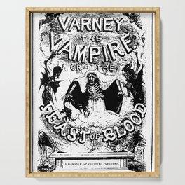 Varney the Vampire Serving Tray