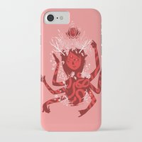 shiva iPhone & iPod Cases featuring shiva by takcooper