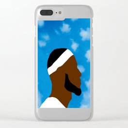 LeBron art Clear iPhone Case