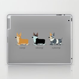 corgi, siborgi, and cybogi Laptop & iPad Skin
