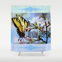 The Things Which God Hath Prepared Shower Curtain