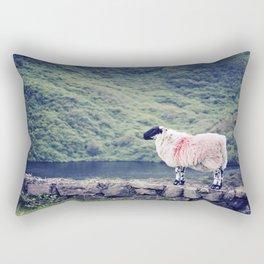 Living on the Edge Rectangular Pillow