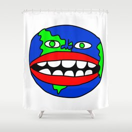 Goons World Shower Curtain