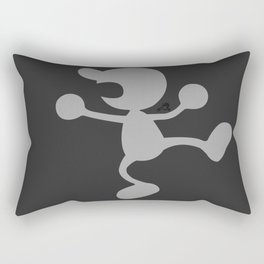 Mr.Game&Watch(Smash)White Rectangular Pillow