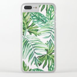 Wild Paradise Clear iPhone Case