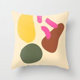 2  |Abstract Shapes | Minimal Shapes| 201116 | Minimal Art Throw Pillow