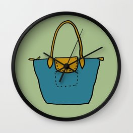 Satchel, 1 Wall Clock
