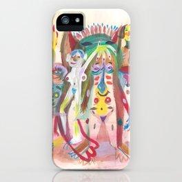 Orgy iPhone Case