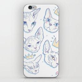 Sphynx Kitties iPhone Skin