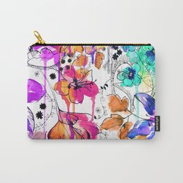 Lost in Botanica Carry-All Pouch
