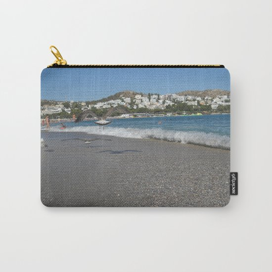 Seagull Beach Greece Carry-All Pouch