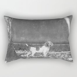 Alert! Rectangular Pillow
