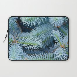 Fir branches background Laptop Sleeve
