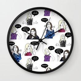 OC Ladies Wall Clock