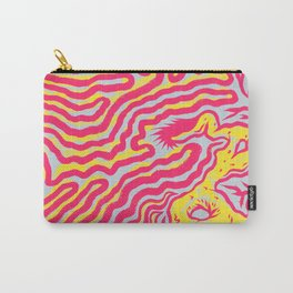 Coral Dud Carry-All Pouch