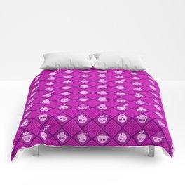 The Nik-Nak Bros. Purpol Comforters