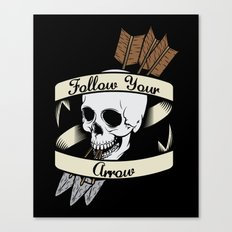 Follow Your Arrow Canvas Print