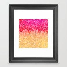 Bindi Rays Framed Art Print