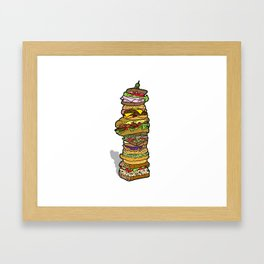 SANGWICHES!!! Framed Art Print