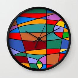 Abstract #74 Wall Clock