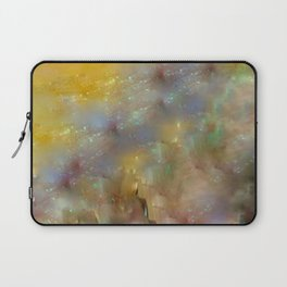 Abstract: Candle and Nail Polish Laptop Sleeve