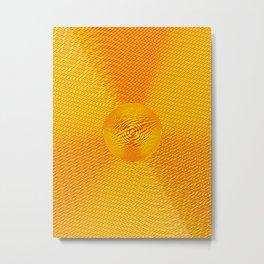 Sign of Radiation Metal Print