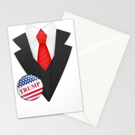 Trump Vote Donald Halloween Suit Costume Stationery Cards