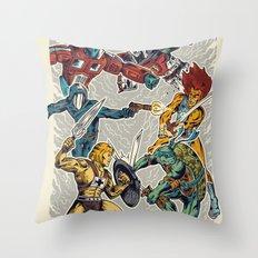 80's Smash Throw Pillow