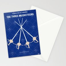 No724 My The Three Musketeers minimal movie poster Stationery Cards