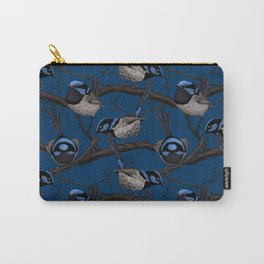 Night fairy wrens Carry-All Pouch